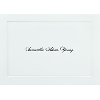 Personalized Thank You Notes - 25/pk