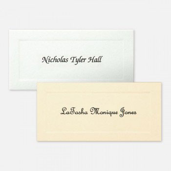 Name Cards - Regular graduation namecards, name cards, cards, graduation inserts